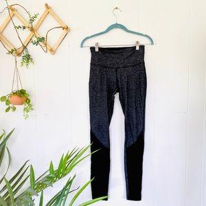 Lululemom gray knit leggings size 4